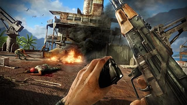 Far Cry Compilation Headed To Ps3 In February Far Cry 3 Blood Dragon Far Cry 3 Far Cry 2