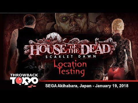 House Of The Dead Scarlet Dawn Gameplay Footage Revealed House
