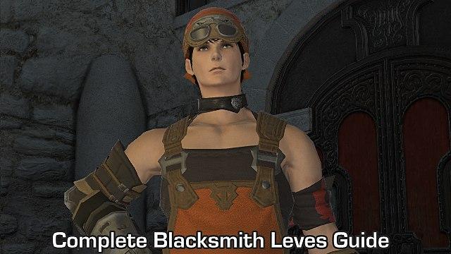 FFXIV - Complete Blacksmith Leves Guide | Final Fantasy XIV