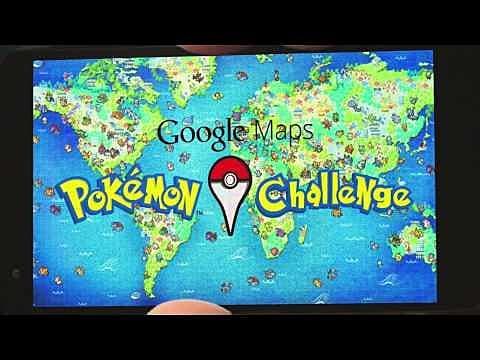 All 150 Pokemon Locations on Google Maps Pokemon Challenge