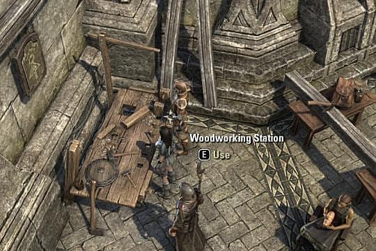 Elder Scrolls Online Introduction To Gear Crafting Woodworking Part Iii Elder Scrolls Online