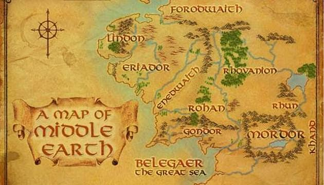 Lord Of The Rings Online World Map.Do Mmo Worlds Spread Players Out Too Much The Lord Of The Rings