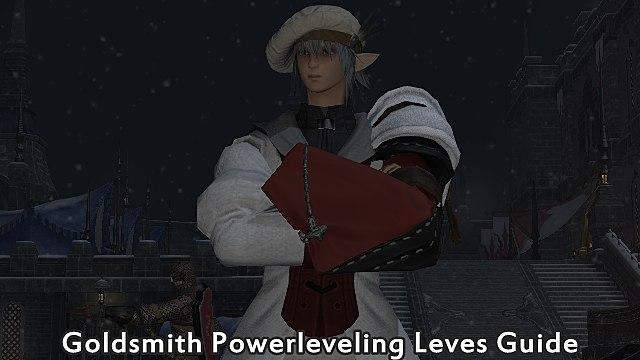 FFXIV - Goldsmith Powerleveling Leves Guide   Final Fantasy XIV