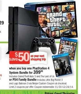 GTA V PS4 Bundle & Family PS4 Bundle Coming to North America | Grand