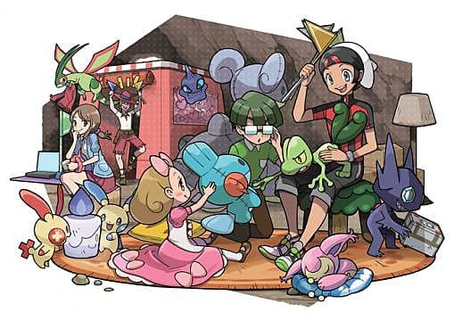 Pokemon Omega Ruby and Alpha Sapphire - Competitive Breeding
