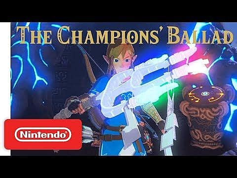 The legend of zelda breath of the wild guide how to access the champions 39 ballad dlc the - How do you get the master cycle zero ...