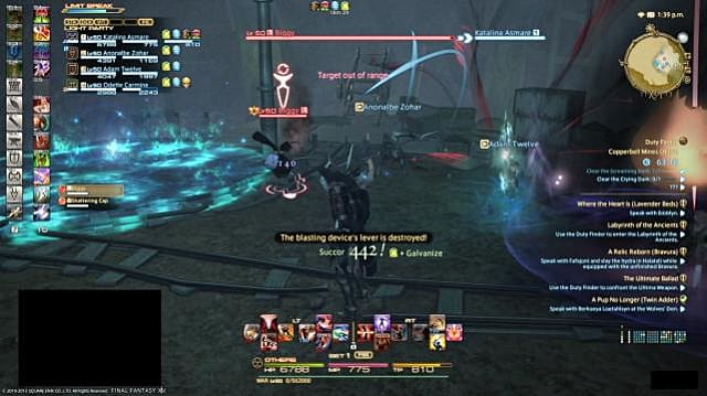 FFXIV: Copperbell Mines Hard - Second Boss | Final Fantasy XIV