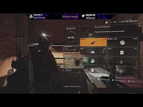 Amazing The Division 2 Guide How To Upgrade The Crafting Bench Pabps2019 Chair Design Images Pabps2019Com