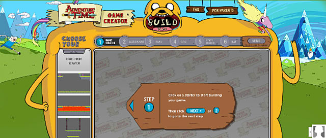 Create Your Own Adventure Time Adventure Time