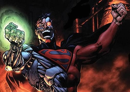 Injustice - Cyborg Superman Skin Being Added to DLC ... Red Son Justice League
