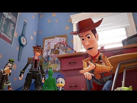 Toy Story World And Release Window For Kingdom Hearts 3