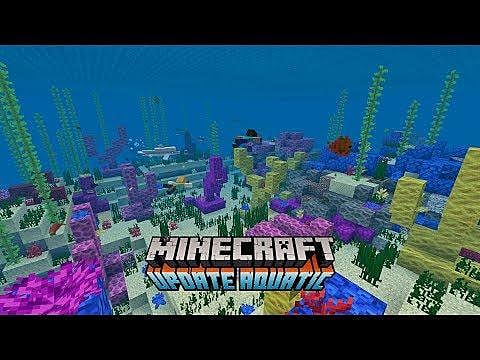 Minecraft's Update Aquatic Phase 2 Surges Onto Servers | Minecraft