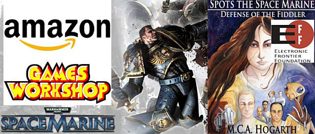 Games Workshop Defends Position as Space Marine e-Book