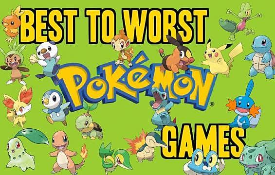 best pokemon game so far