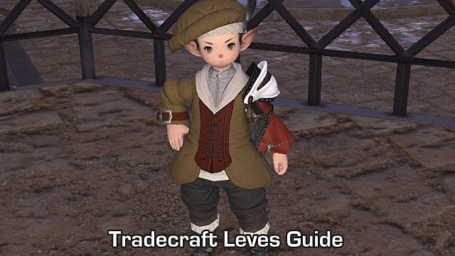 FFXIV - Tradecraft Leves Guide Including Levemete Locations | Final
