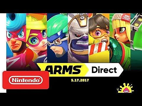 Nintendo Direct Recap (5/17): ARMS Free Updates, Splatoon 2