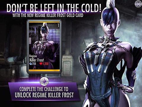 Injustice (Mobile) - Killer Frost Challenge Mode - UPDATE