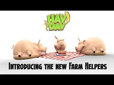 Hay Day 2017 Guide How To Set Up Farm Helpers Produce Goods While Youre Away