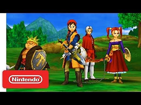 Dragon Quest Viii Changes To The 3ds Version Which Weren T On The
