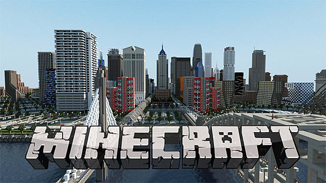 minecraft how to make one big map