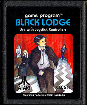 The cover of the Twin Peaks-themed game