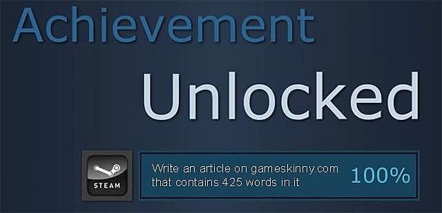What Could Valve Do to Improve the Steam Achievements System?