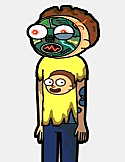 animatronic morty
