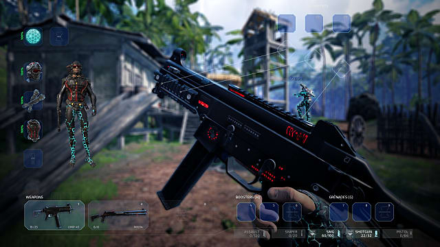 Islands of Nyne offers a myriad of weapon choices