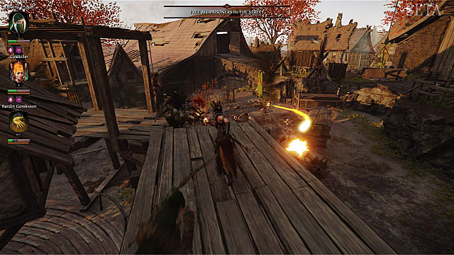 Attacking Vermintide 2 enemies from a high vantage point