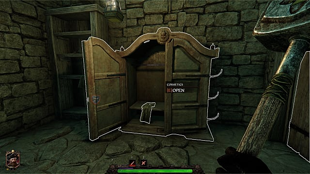 Opening the cosmetics wardrobe in Warhammer Vermintide 2