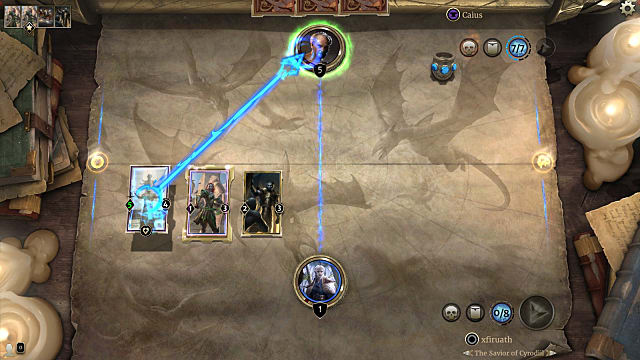 Tribunal Initiation Puzzle in Houses of Morrowind, the new expansion for Elder Scrolls Legends