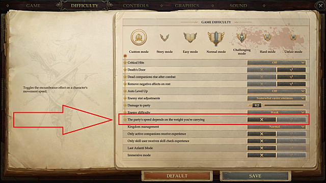 How to Toggle Run/Walk in Pathfinder: Kingmaker ...