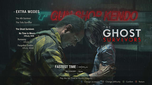 Resident Evil 2: Ghost Survivors Guide: All Mr  Raccoon