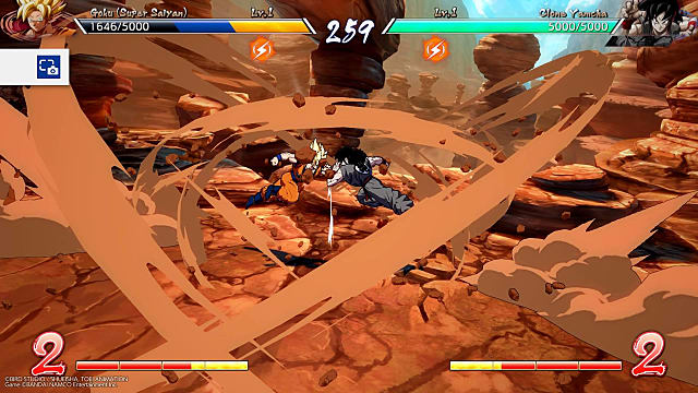 Dragon Ball FighterZ match