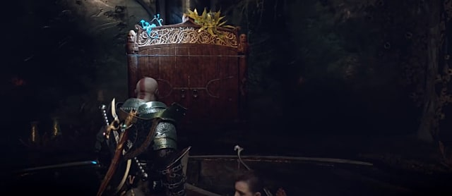 God of War's Tyr's Temple Shrine