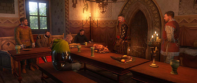 One of many scenes from the lengthy Kingdom Come Deliverance prologue