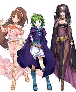 Linde, Nina, and Tharja