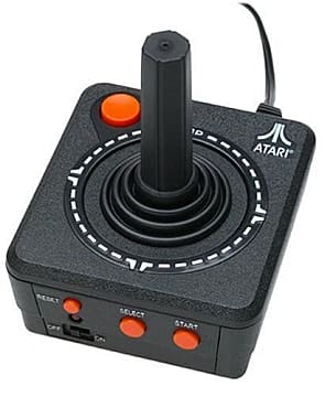 An old Atari joystick -- still a classic controller