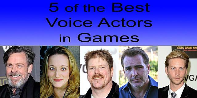 5 Of The Best Voice Actors In Games