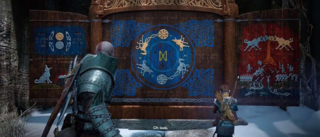 Wildwoods Jotnar Shrine in God of War