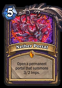 hearthstone, nether portal