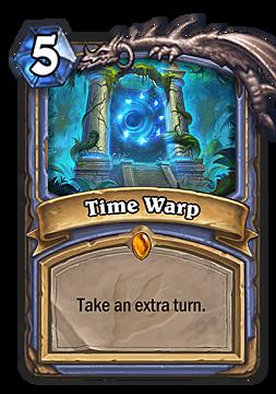 hearthstone, time warp