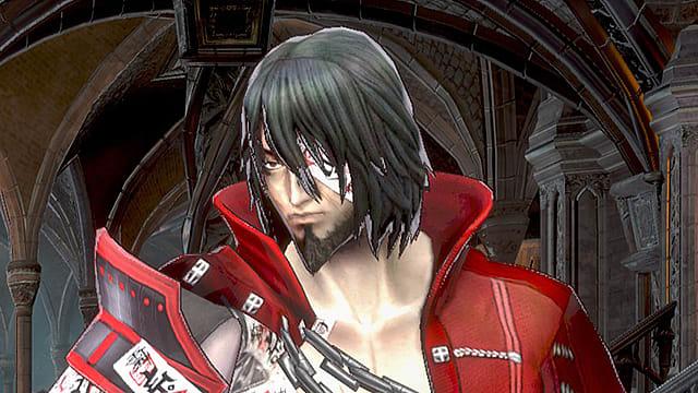 Zangetsu in Bloodstained Ritual of the Night
