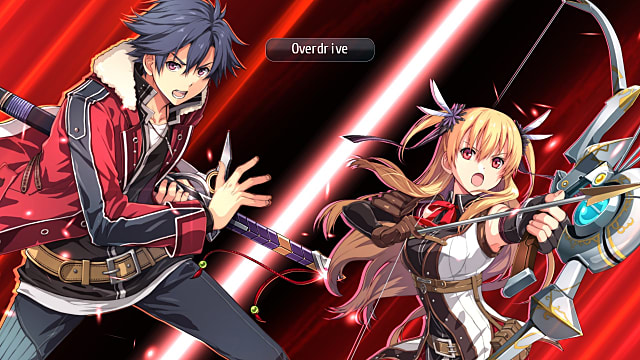 Trails of Cold Steel 2 Overdrive in action