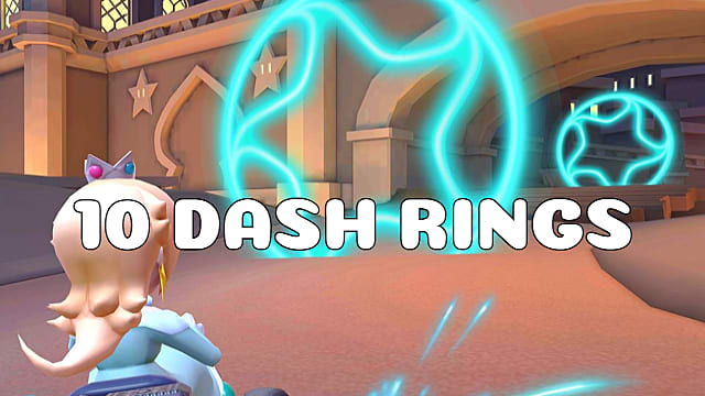 Mario Kart Tour Guide Pass Through 10 Rings Created By A