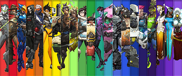 Dual Monitor Wallpaper Overwatch: My Top 9 Favourite Overwatch Heroes That Elevate This
