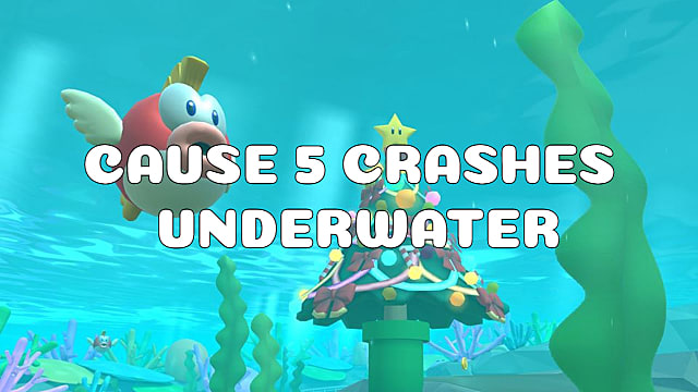 Mario Kart Tour Cause Opponents To Crash 5 Times Underwater