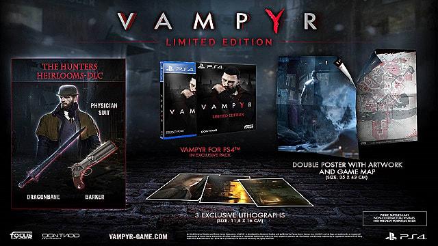Vampyr limited edition bundle