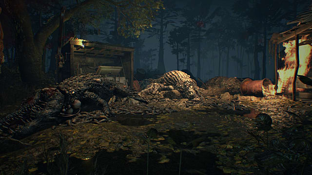 Typical Resident Evil 7 scene