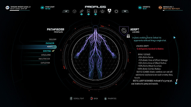 mass effect andromeda adept profile